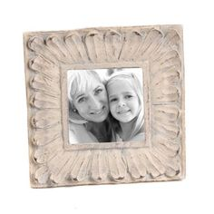 Distressed Ivory Daisy Picture Frame, 4x6   Kirkland's