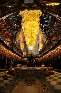 Coro de la Catedral de Sevilla (Andalucia) - España