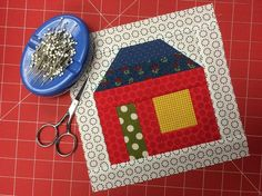 Have A Scrap-Happy September With This Adorable House Quilt Block BOM Tutorial
