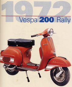 of course! Moto Scooter, Best Scooter, Vespa Lambretta, Vespa Scooters, Piaggio Vespa, Triumph Motorcycles, Ducati, Vespa 200, Motocross