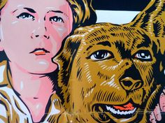 My Pal Wolf  vintage movie poster from the 40s old by OatesGeneral