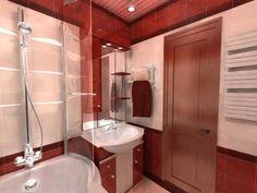 Рисунок из плитки в оформлении ванных комнат