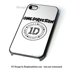 1D Flower iPhone 4 4S 5 5S 5C 6 6 Plus , iPod 4 5  , Samsung Galaxy S3 S4 S5 Note 3 Note 4 , and HTC One X M7 M8 Case