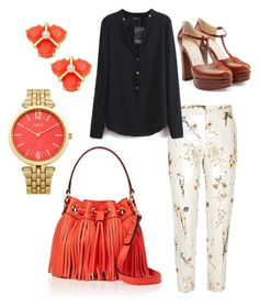 """""""Orangearth"""" by ares-and-aphrodite on Polyvore featuring River Island, L'Autre Chose, Oasis, Kate Spade and Milly"""