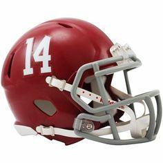 Alabama Crimson Tide Mini Speed Football Helmet
