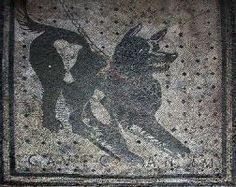 Pompeï: mozaiek