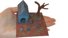 tutorial: miniature cemetery