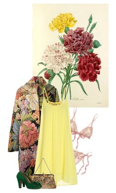 Vintage Floral by artamisia on Polyvore featuring polyvore fashion style Hanky Panky vintage clothing
