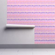 SUNRISE pink coral purple magma clouds on Isobar by paysmage | Roostery Home Decor