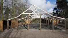 Our beautiful, rustic barnquee due for completion in April.
