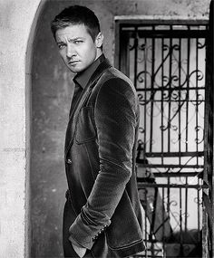 Jeremy Renner umm quite attractive and enjoyable to look at