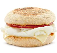 Why The Atlantic's Defense of Junk Food Fails. Pictured here is 'The McDonald's Egg White Delight McMuffin. Image courtesy of McDonalds. Healthy Fast Food Breakfast, Healthy Fast Food Options, Low Calorie Breakfast, Fast Healthy Meals, Breakfast Menu, How To Make Breakfast, Breakfast Recipes, Healthy Eating, Healthy Recipes