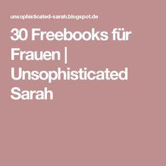 30 Freebooks für Frauen   Unsophisticated Sarah