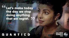 """S1 Ep10 """"Quantico"""" - Regrets #Quantico"""