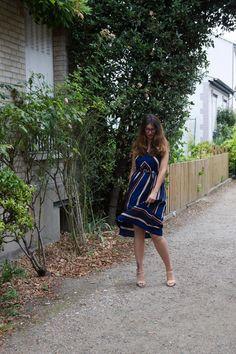 J'ai choisi cette robe Zaful pour son côté chic, car je n'avais pas de robe du genre pour la porter dans toutes les circonstances (rdv, anniverssaires, ...)