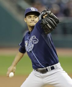 Chris Archer gave up 3 hits & struck-out 6 in 7 2/3rd innings but got no run support & the Rays lost to the Indians 1-0. It was Archer's 16th start in which he gave up one or fewer runs tying James Shield's 2011 team record. This was the 18th time the Rays were shutout this season & they have been involved in 39 shutouts this season the most in the major's since 1968. (9-26-14)