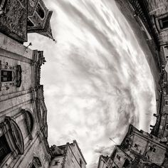 Chiesa Della Ss. Trinità, Popoli (Pe)) [Capture] Abruzzo by Andrea Costantini on Art Limited - what a fantastic perspective. People forget to look up...