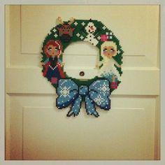 Frozen wreathe