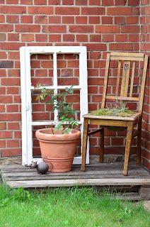 schones deko rolladen garten aufstellungsort bild der bfdccecfec rustic outdoor decor garden crafts