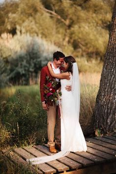 Emotional post-ceremony moment captured by Rebecca Caridad