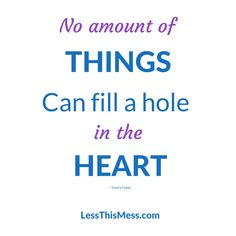 There are no Amount of Things