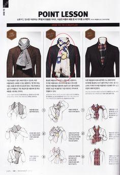 scarf tying for men