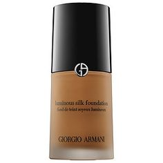 Inspired by silk, this weightless foundation smooths as it covers for a flawless complexion. A little goes a long way! #GiorgioArmani #Sephora