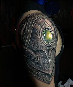 Starcraft Protoss Armor Tattoo