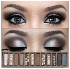 Smokey eye for the Naked Eye Pallet--