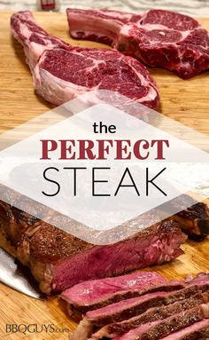 Learn how to cook the perfect steak with Chef' Tony's BBQ Grilling Recipe. Steak Recipes, Grilling Recipes, Sauce Recipes, Cooking Recipes, Steak Tips, Cooking Bacon, Cooking Wine, Smoker Recipes, Yummy Recipes