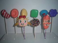 Candy Crush Cake Pops!!!!