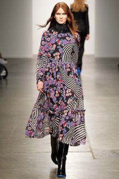 Karen Walker - I just love it it's a mashup of the sixties and seventies. Reminds me of the clothes and the vibe that was on That 70's Show. thestyleweaver.com Fall 2015 Ready-to-Wear
