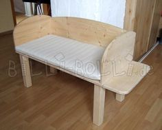 Bedside Crib   buy online   Billi-Bolli Kids Furniture