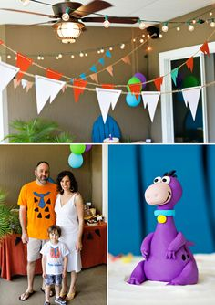 Classic & ROCKIN Flintstones Birthday Party