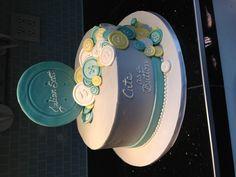 Julian baby shower cake- my grandson cake ........