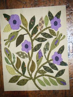 Journey of a Quilter: Civil War Bride Block 2 Hand Applique, Applique Patterns, Quilt Patterns, Quilting Ideas, Quilting Projects, Quilting Designs, Hawaiian Quilts, Civil War Quilts, American Quilt