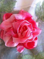 """Tutorial do flor    -    Gallery.ru / Innetta - Альбом """"Роза u виноградные листья."""""""