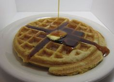 Maple-Bacon Waffles (paleo/primal) sounds like a good combination to me...