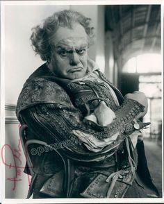 Gobbi, Tito - Signed Photo as Falstaff
