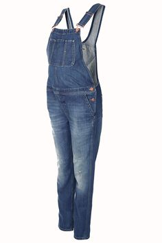 b448a70038f8 Maternity Denim Dungarees (at  Topshop) Maternity Fashion