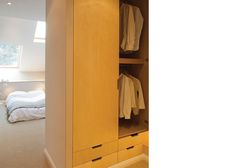 alma-nac_slim house_06 Narrow House Designs, Entryway, Dressing, Loft, Slim, Spaces, Architecture, Interior, Furniture