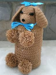 Image result for free crochet toilet paper covers patterns