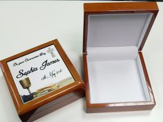 A beautiful personalised keepsake box for those treasured memories. Personalised Gifts, Keepsake Boxes, Memories, Day, Frame, Beautiful, Home Decor, Personalized Gifts, Memoirs