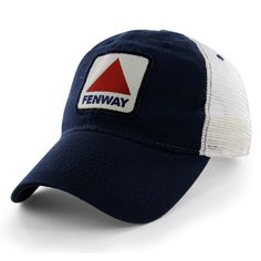 """Boston Fenway Sign """"Pastime Trucker"""" Hat by Chowdaheadz. It's a snap back with wicked soft mesh!"""