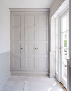 Buy Victorian style Wardrobe Doors from Just Wardrobe Doors. We specialise in bespoke fitted wardrobes doors made on site to fit your room. Garderobe Design, Custom Wood Furniture, Furniture Plans, Kids Furniture, The Doors, Front Doors, Entry Doors, Front Entry, Entrance