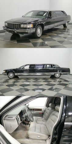 low miles 1995 Cadillac Fleetwood Limousine for sale Cadillac Fleetwood, Automatic Transmission, Impala, Corvette, Luxury Cars, Ali, Garage, Future, Fancy Cars