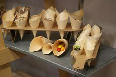Epicure Trading - Cone Holder by Mat Bogust, via Behance
