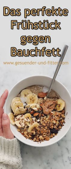 The perfect breakfast for belly fat - healthy and fit .- Das perfekte Frühstück gegen Bauchfett – Gesuender und Fitter The perfect breakfast for belly fat – healthier and fitter - Slow Cooker Recipes, Low Carb Recipes, Baking Recipes, Healthy Recipes, Health Breakfast, Breakfast Recipes, Detox Breakfast, Breakfast Ideas, Fitness Workouts