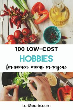 Looking for healthy ways to relieve stress and have fun? Here are 100 low-cost hobbies that are easy to do at home or outdoors. There's something for everyone even if you're short on time.     #hobbies #funhobbies #hobbiesforwomen #hobbiesformoms #hobbiesformen #lowcosthobbies #freehobbies Hobbies For Women, Hobbies To Try, Hobbies That Make Money, Diy Crafts And Hobbies, Crafts To Sell, Ways To Relieve Stress, Self Improvement Tips, Wellness Tips, Stress Management