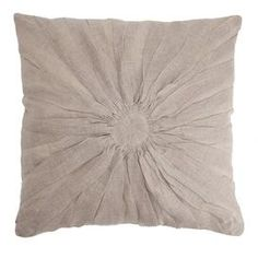 Flora Pillow in Natural from Live Jakai. Love.